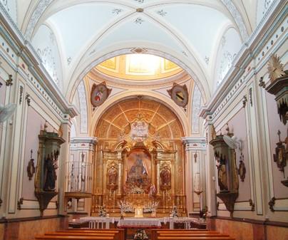 Virgen de Rus interior