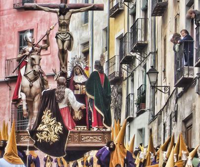 La Lanzada en la Semana Santa de Cuenca