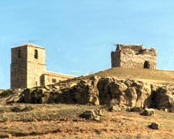Torreón de Hinojosa, en La Hinojosa (Cuenca)