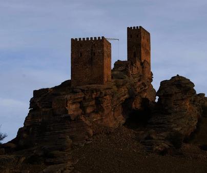 Castillo de Zafra. Campillo de Dueñas. Guadalajara