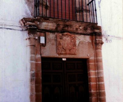 Casa Solariega, en Almedina. Ciudad Real
