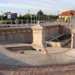 Plaza de las Charcas, en Carranque (Toledo)