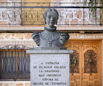 Busto de Catalina en Esquivias /<b>David Blázquez</b>