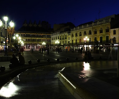 Plaza Mayor de Ciudad Real capital /<b>Antonio Real Hurtado</b>