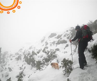 Senderismo con nieve en Cuenca