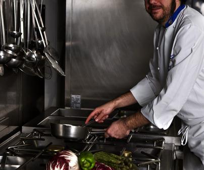 José Carlos Macías Madueño, chef del Restaurante Miami Park (Ciudad Real) /<b>Jorge Moreiro</b>