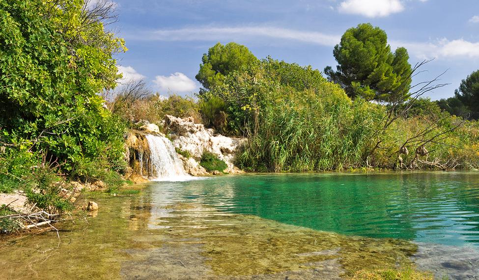 Rutas por el parque parque natural de las lagunas de Lagunas para cachamas