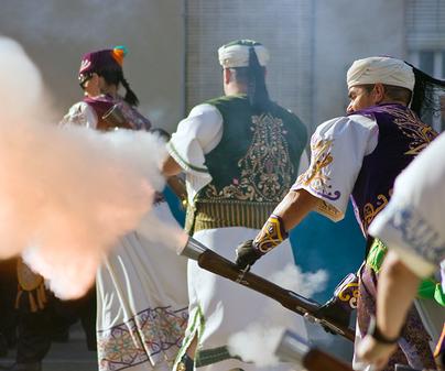 Fiesta de moros y cristianos de Caudete