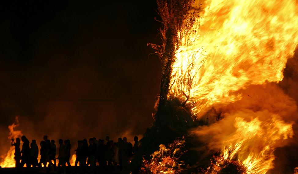 La Procesión del Fuego de Humanes