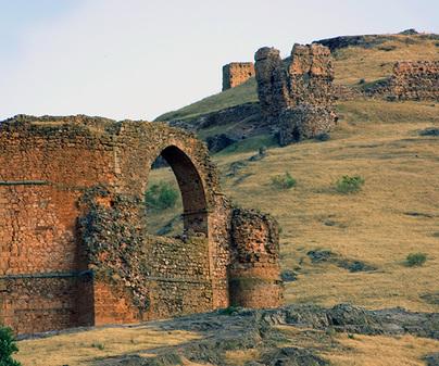 Castillo de Alcaraz: puerta de Castilla
