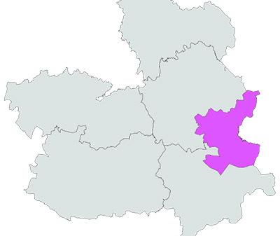 Mapa de Denominación de Origen Manchuela