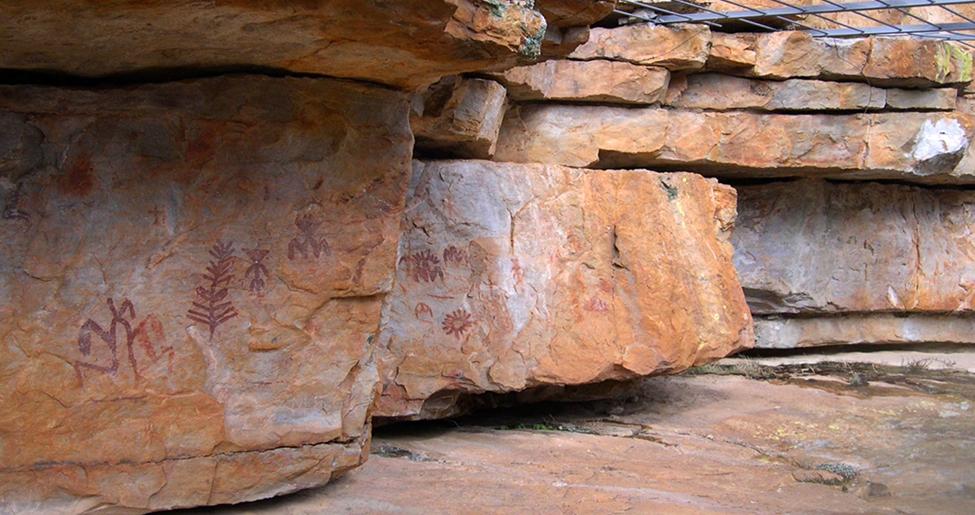 Arte rupestre – Esquemático Fuencaliente