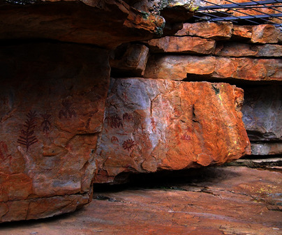 Arte rupestre- Esquemático Fuencaliente
