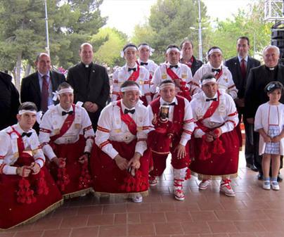 Danzantes y Santísimo Cristo de la Viga de Villacañas