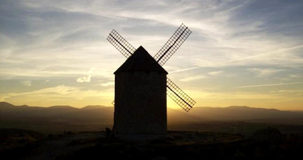 Molino de viento -Ventas con Peña Aguilera