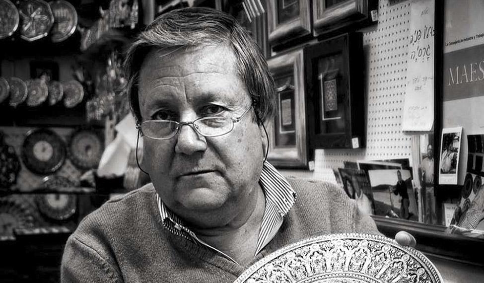Julio Peña García. Damasquinador.