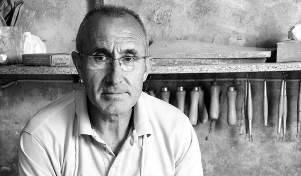 Joaquín Magán Ocaña. Alfarero.