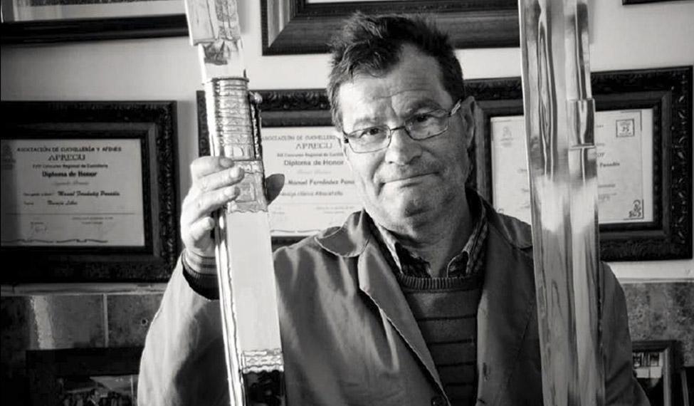 Manuel Fernández Panadés. Cuchillero.