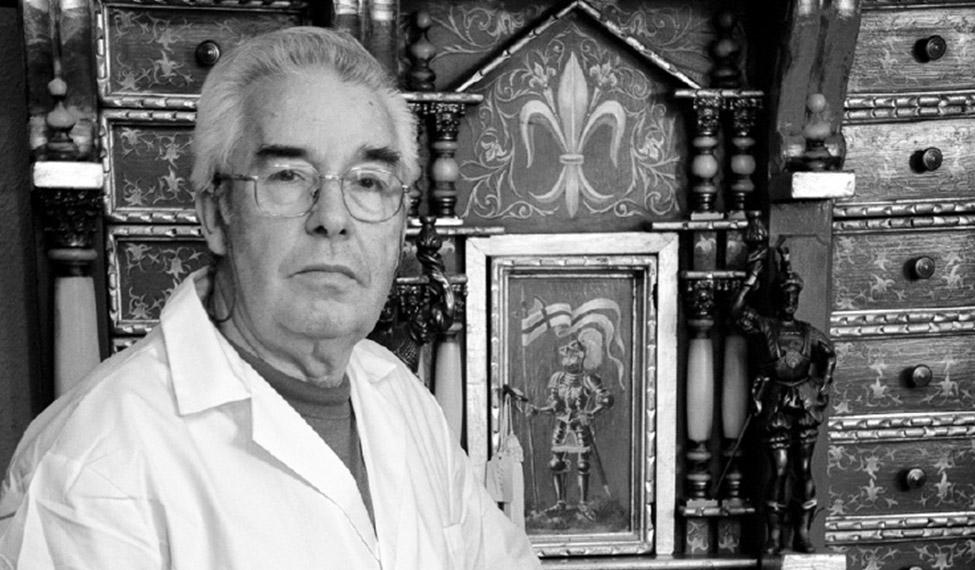 Julio Martín de la Fuente. Ebanista.