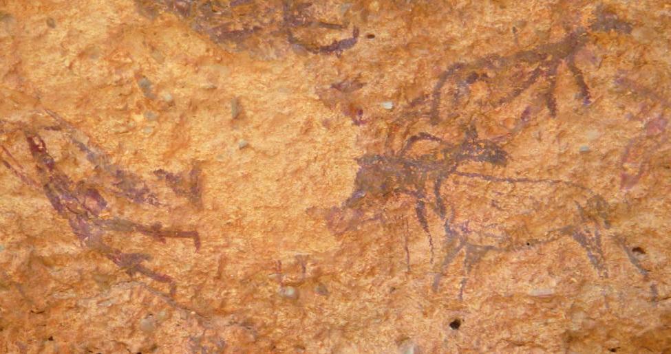 Arte rupestre –Levantino Minateda