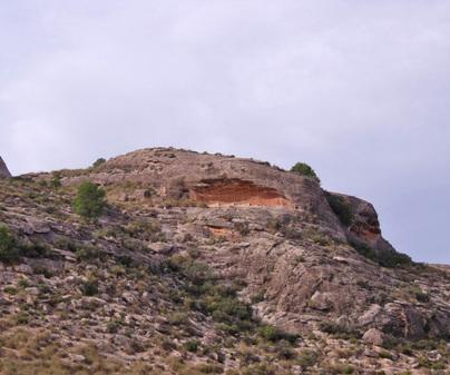 Arco rupestre- levantino  Hellín