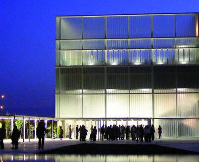 Palacio de Congresos Ciudad de Albacete - Vista nocturna