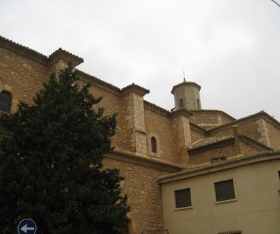 Iglesia de San Juan Bautista en Casas Ibáñez