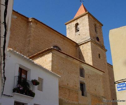 Iglesia de Santa Quiteria en Higueruela