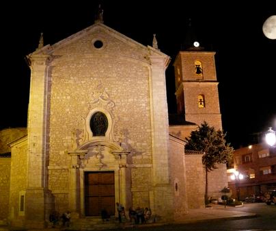 Iglesia barroca de San Pedro y San Pablo en Madrigueras