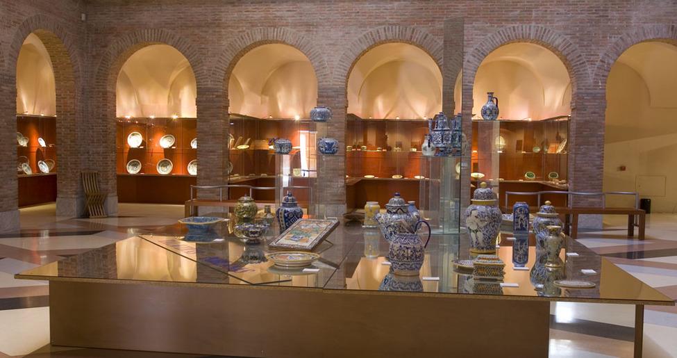 Visita museo de cer mica ruiz de luna tclm - Azulejos reina ...