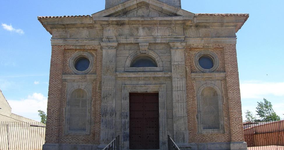 La iglesia de Almuradiel aúna barroco y neoclasicismo