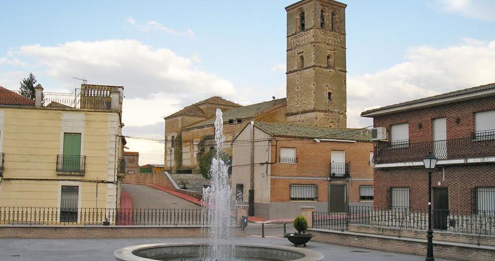 Iglesia mudéjar de la Asunción en Erustes