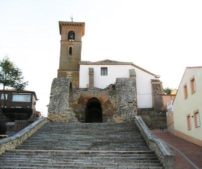 Iglesia parroquial de Santa María de los Alcázares en Maqueda