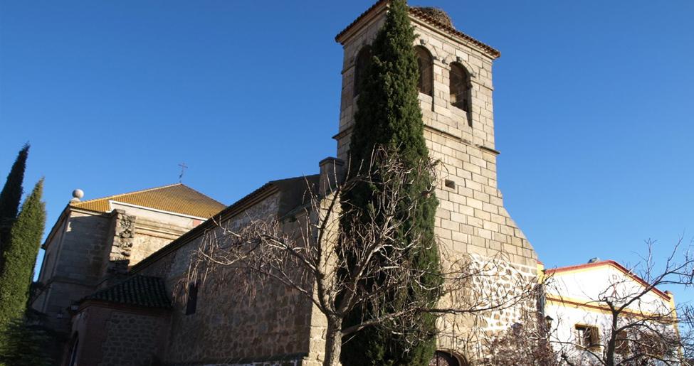 Iglesia de San Andrés Apóstol en San Martín de Montalbán