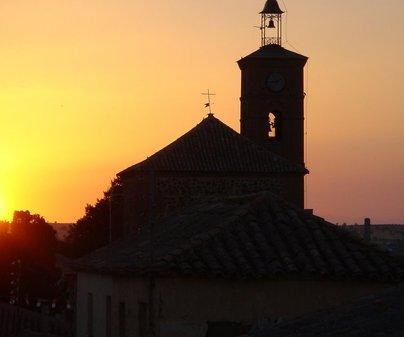 Iglesia de Santa María Magdalena en Layos