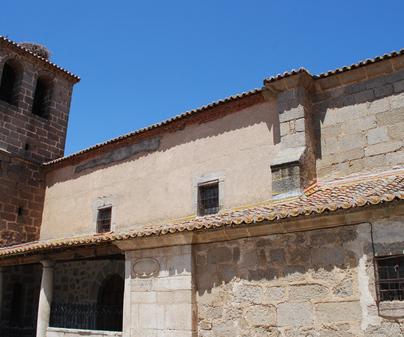 Iglesia de San Bartolomé Apóstol en Mesegar de Tajo