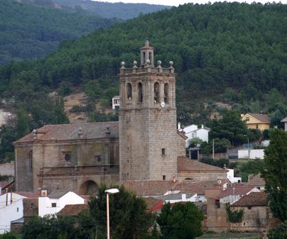 Iglesia de Santa María de la Nava en Navamorcuende