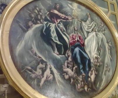 Illescas - Coronación de la Virgen de El Greco