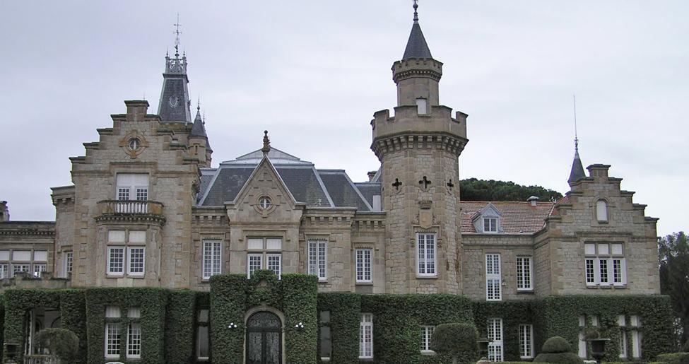 Palacio de El Castañar en Mazarambroz