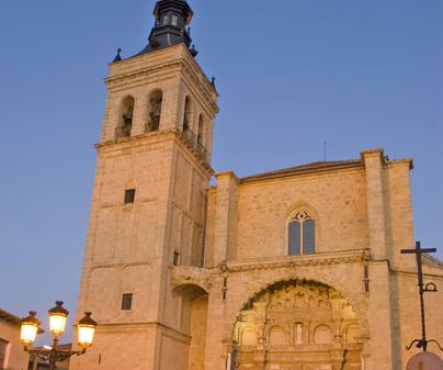 Iglesia parroquial colegiata del Santísimo Sacramento en Torrijos