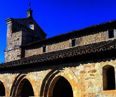 Iglesia de Santa María Magdalena en Valdeavellano