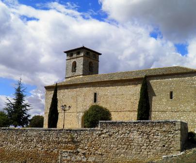 Iglesia parroquial de San Miguel Arcángel en Fuentelviejo