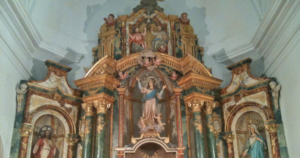 Iglesia de la Asunción en la Almarcha