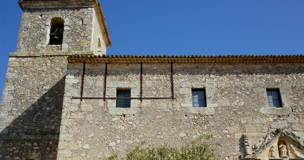 Iglesia de Santo Domingo de Silos en Tribaldos