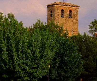 Iglesia del siglo XV de El Peral