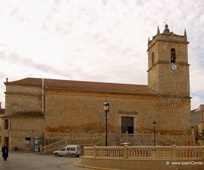 Iglesia parroquial de San Andrés en Ledaña