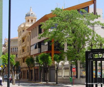 Albacete, Punta del parque Abelardo Sánchez
