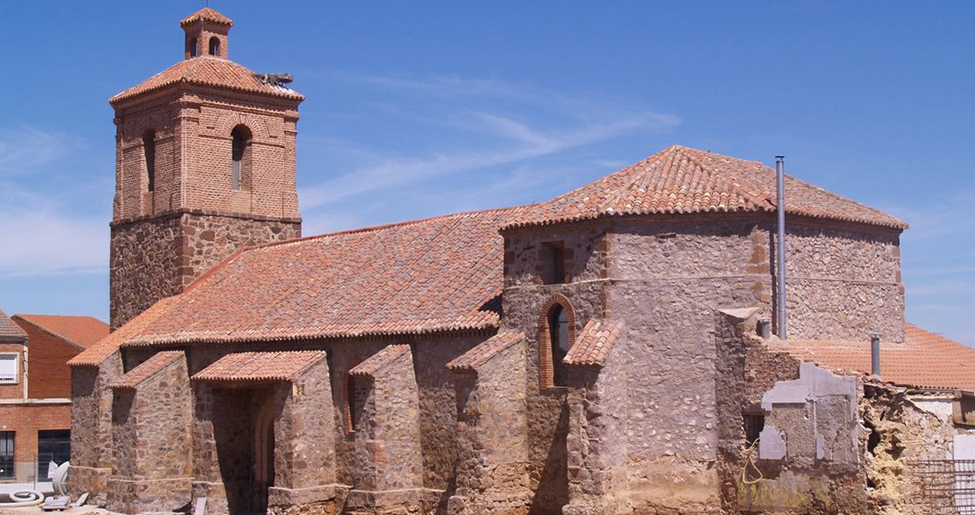 Iglesia de San Sebastián en Porzuna