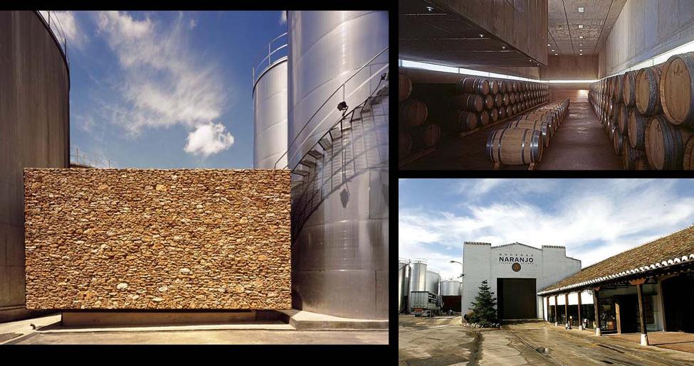 Bodegas Naranjo en Carrión de Calatrava