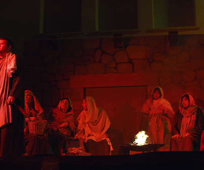 Representación teatral de la Pasión y Muerte de Nuestro Señor Jesucristo de Motilla del Palancar
